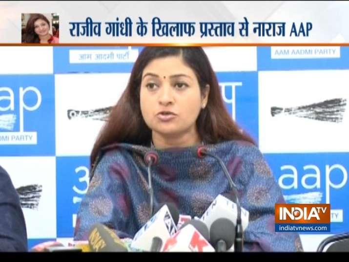 AAP seeks Alka Lamba's resignation