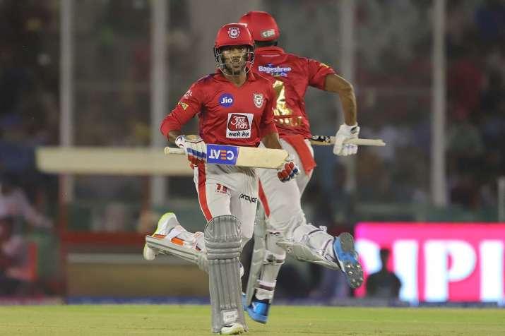 Kings XI Punjab batsman Mayank Agarwal