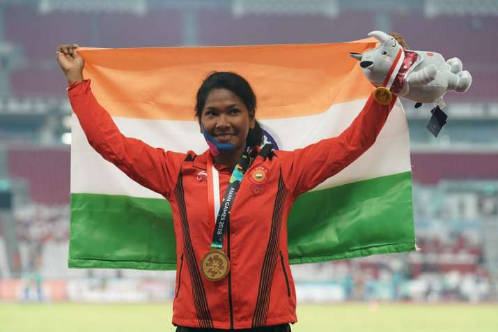 Swapna Barman gets customised shoes for her 12-toed feet