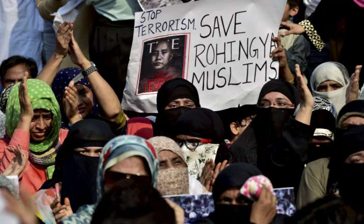 Representative image of Rohingya Muslims