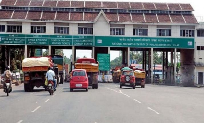 Representational Image of the toll tax collected at