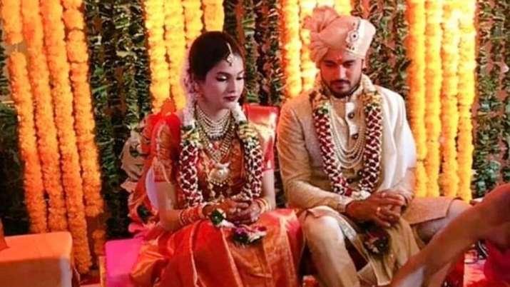 Manish Pandey with26-year-old Ashrita