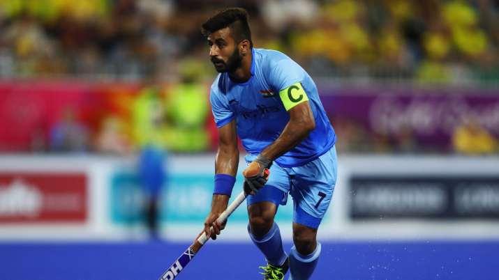Indian men's hockey team skipper Manpreet Singh