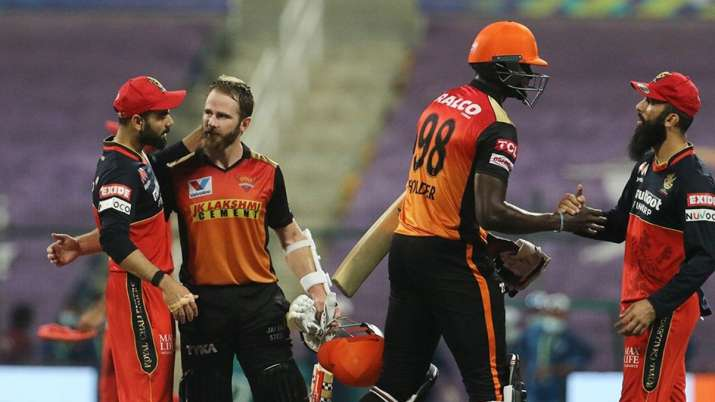 srh, rcb, srh vs rcb, jason holder, kane williamson, delhi capitals, srh vs dc, ipl 2020, ipl 2020 e