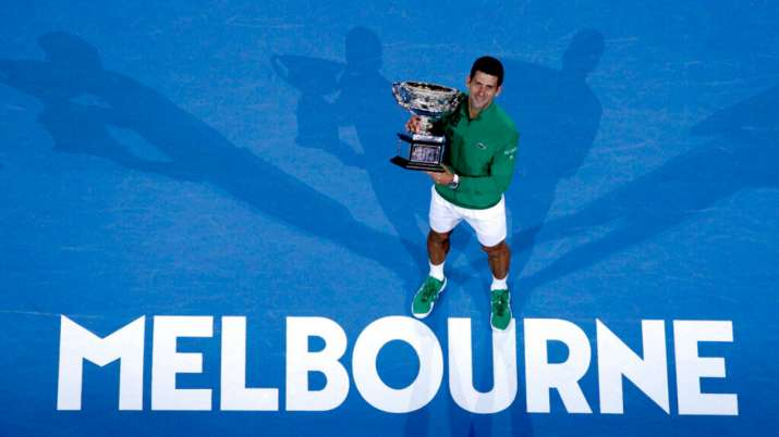 Qualifying for the men's singles draw in Melbourne will
