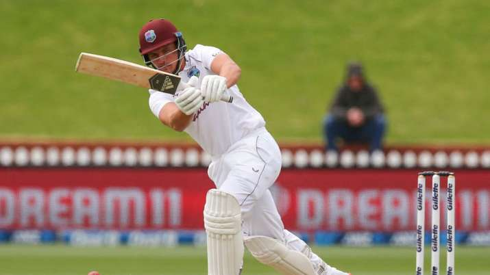 The right-handed batsman was bowled by an arm-ball from