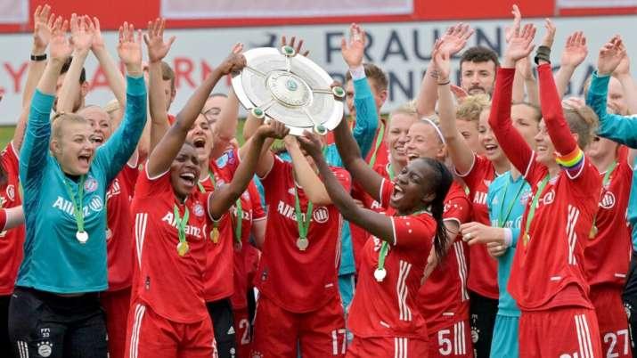 Bayern Munich wins women's Bundesliga, ends Wolfburg's reign