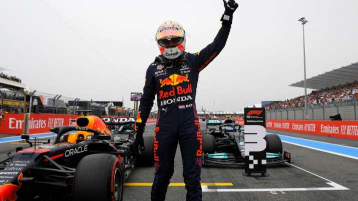 French GP: Max Verstappen beats both Mercedes for his second pole of season