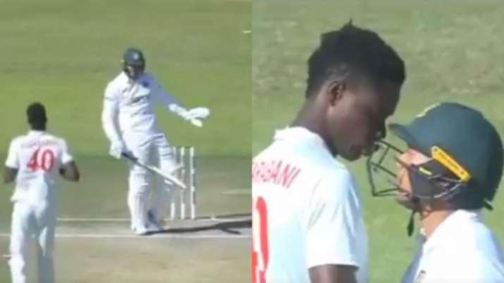 ZIM vs BAN: Taskin Ahmed's dance on pitch enrages Zimbabwe's Blessing Muzarabani | Watch