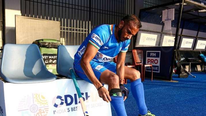 Former India hockey striker S V Sunil retires